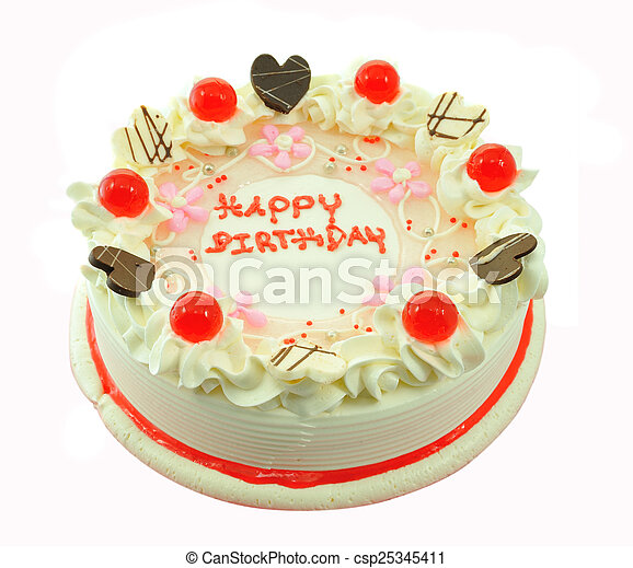 Beautiful whole Cake - csp25345411