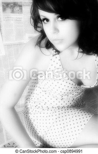 Beautiful Woman - csp0894991
