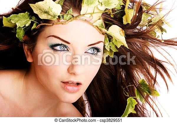 Beautiful woman - csp3829551