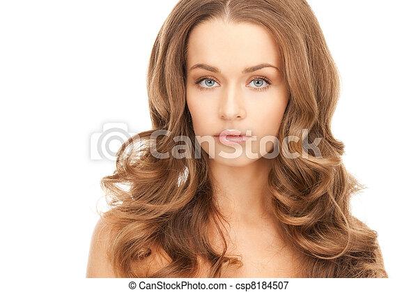 beautiful woman - csp8184507