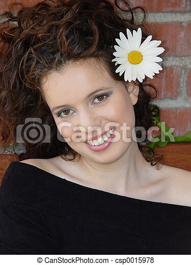 Beautiful woman - csp0015978