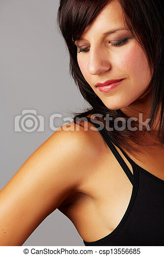 Beautiful woman - csp13556685