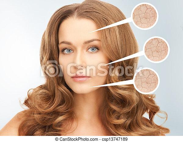 beautiful woman - csp13747189