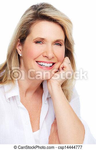 Beautiful woman portrait. - csp14444777