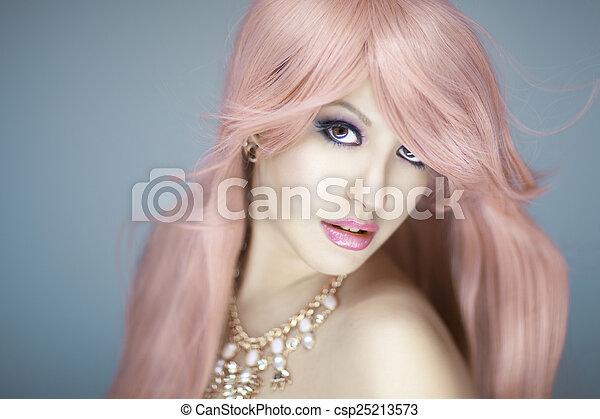 Beautiful Woman Portrait  - csp25213573