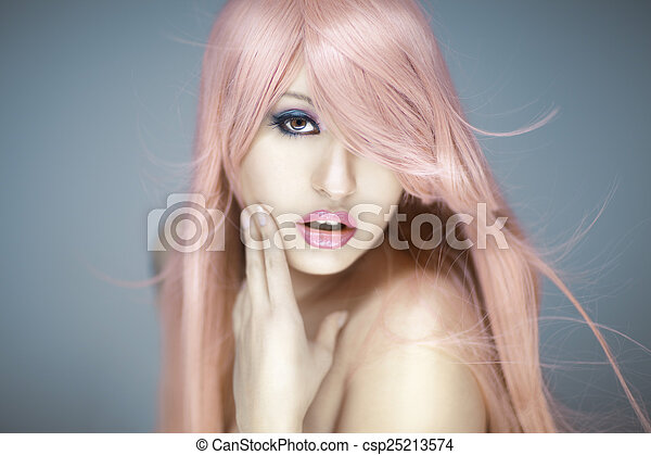 Beautiful Woman Portrait  - csp25213574