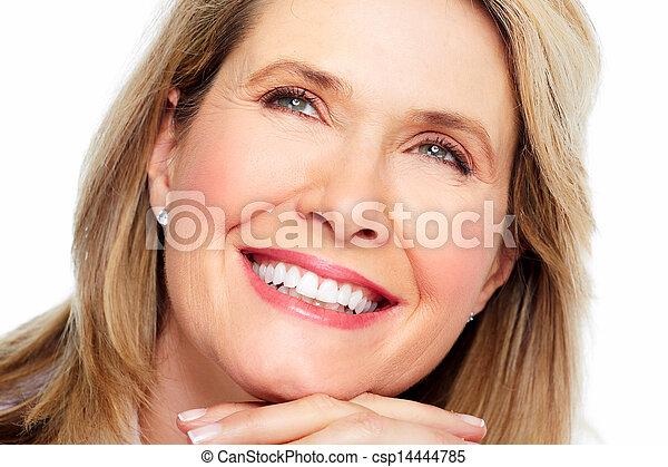 Beautiful woman portrait. - csp14444785