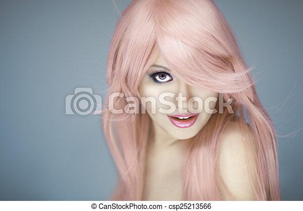 Beautiful Woman Portrait  - csp25213566
