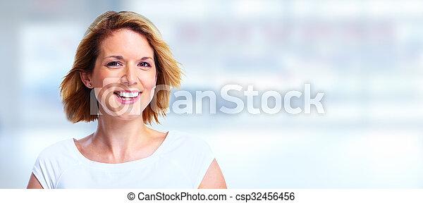 Beautiful woman portrait. - csp32456456