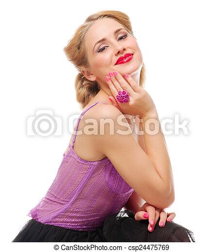 Beautiful woman - csp24475769