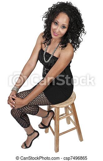 Beautiful Woman - csp7496865