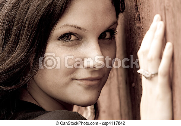 Beautiful Woman - csp4117842