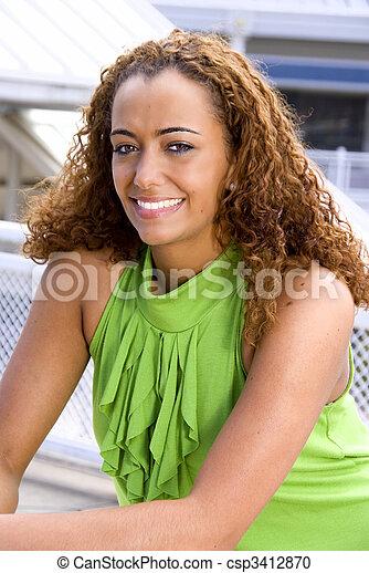 Beautiful Woman - csp3412870