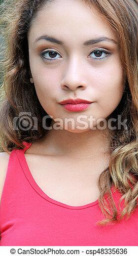 Beautiful Woman - csp48335636