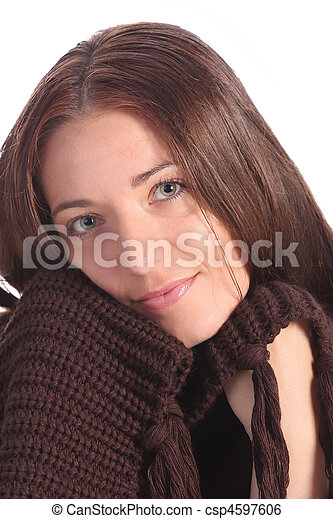 beautiful young a woman - csp4597606