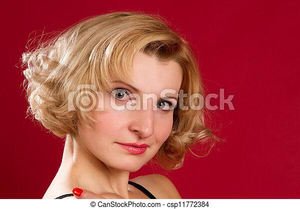 Beautiful young girl - csp11772384