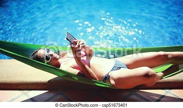 Bikini Laying Down