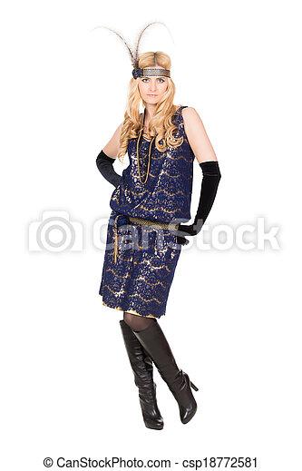 Beautiful young woman - csp18772581
