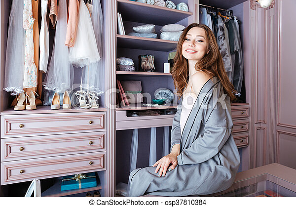 Beautiful young woman - csp37810384