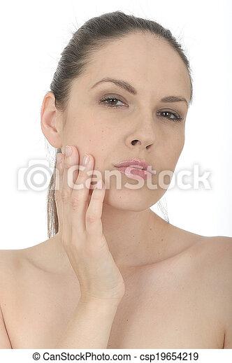 Beautiful Young Woman Portrait - csp19654219
