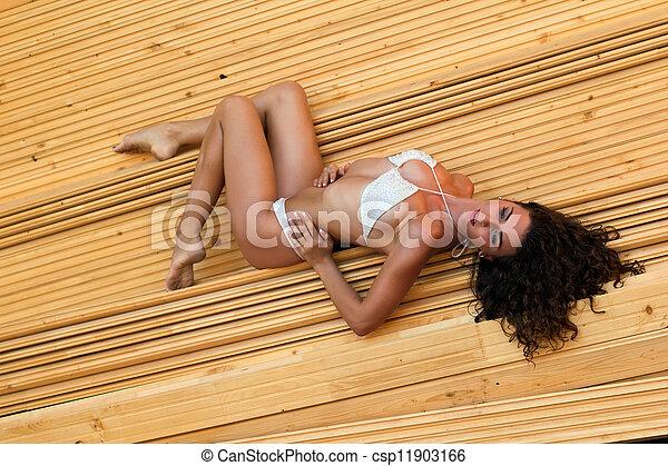 Beautiful young woman - csp11903166