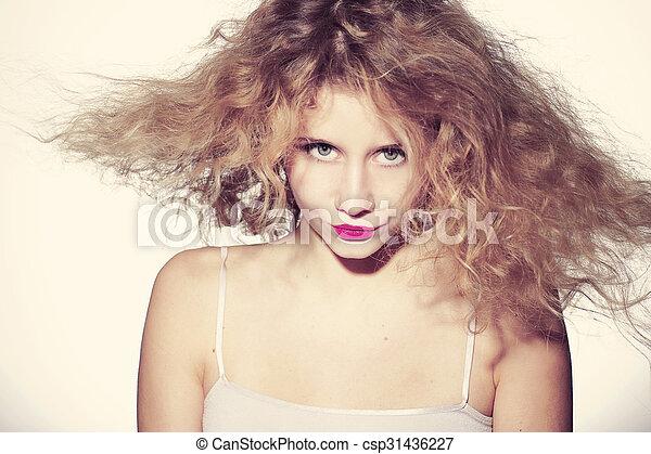 beautiful young woman - csp31436227