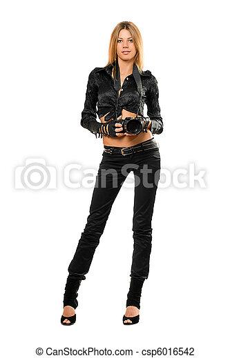Beautiful young woman - csp6016542