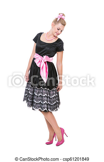 Beautiful young woman - csp61201849