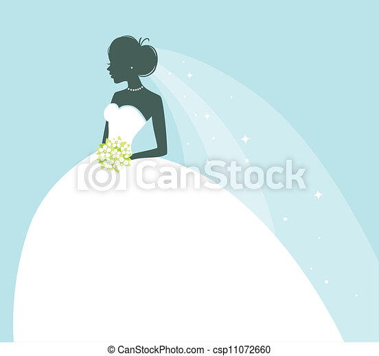 Beauty bride - csp11072660
