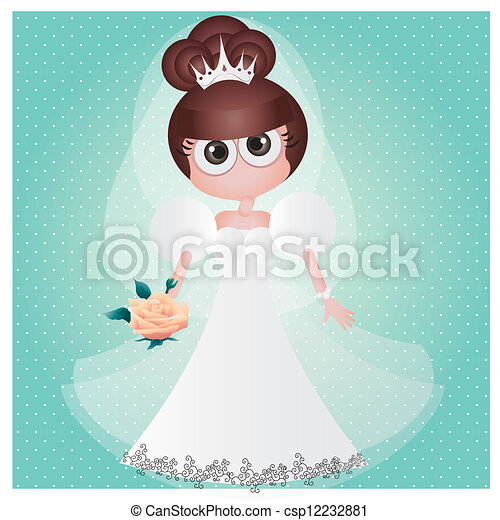 Beauty bride - csp12232881