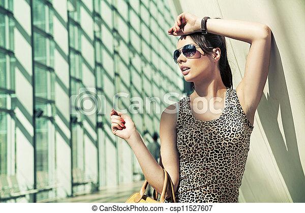 Beauty brunette - csp11527607