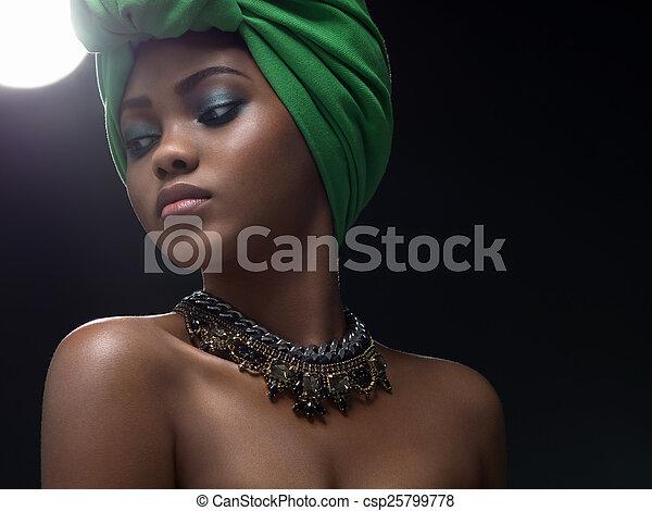 beauty, ethnische  - csp25799778