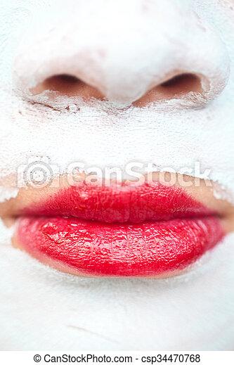 beauty mask - csp34470768