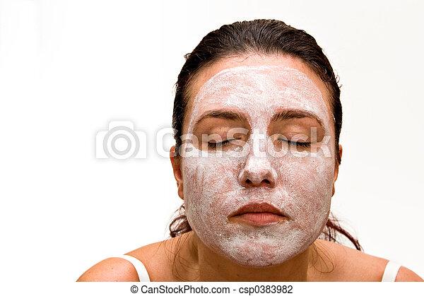 Beauty Mask - csp0383982