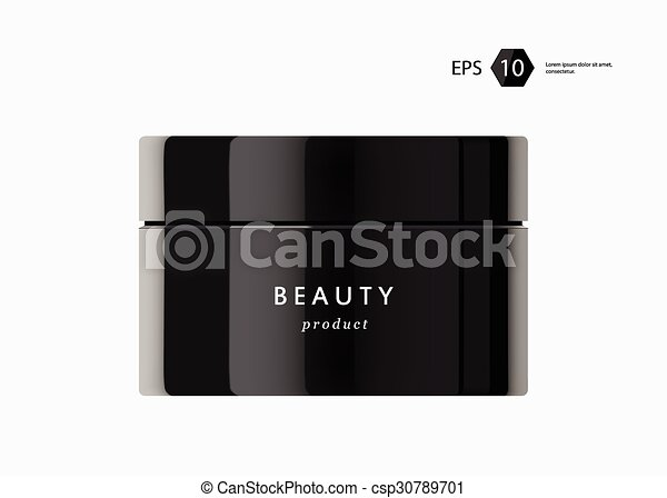 beauty package presentation product - csp30789701