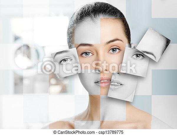 beauty portrait - csp13789775