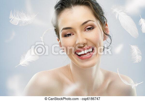 beauty portrait - csp6186747