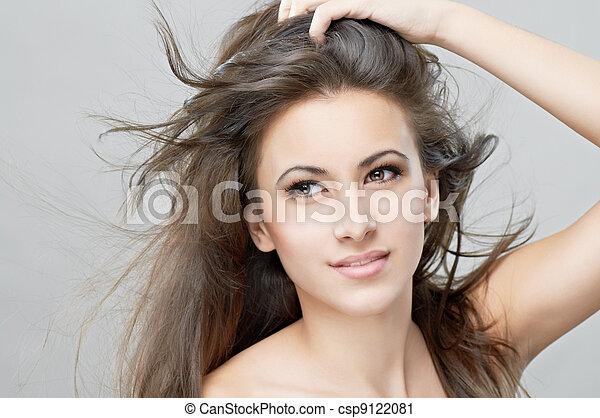 beauty portrait - csp9122081