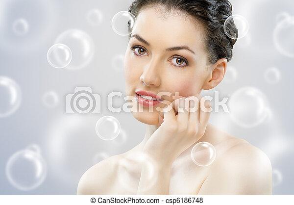 beauty portrait - csp6186748