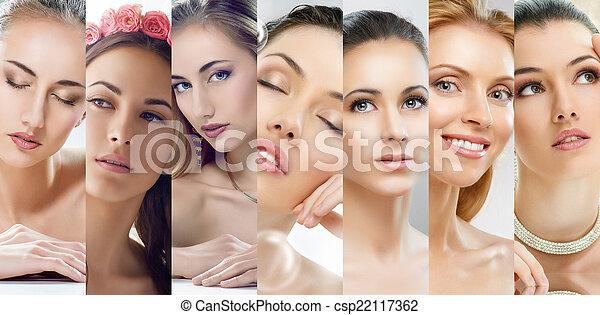 beauty portrait - csp22117362