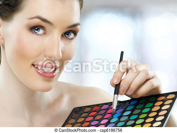 beauty portrait - csp6186756