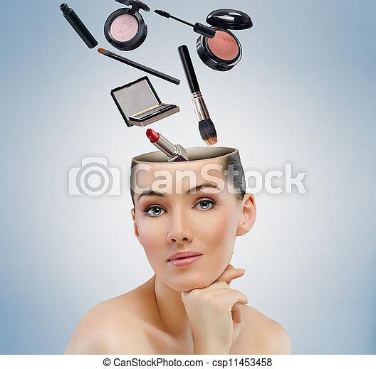 beauty portrait - csp11453458