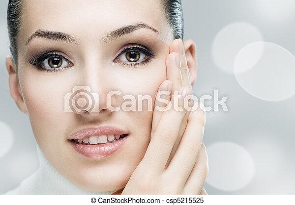 beauty portrait - csp5215525