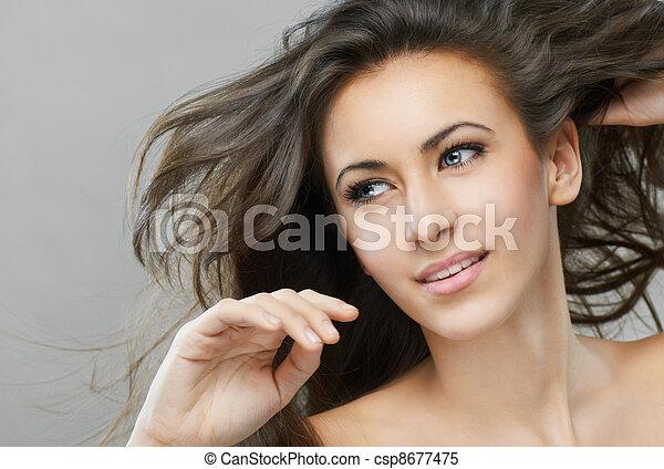 beauty portrait - csp8677475