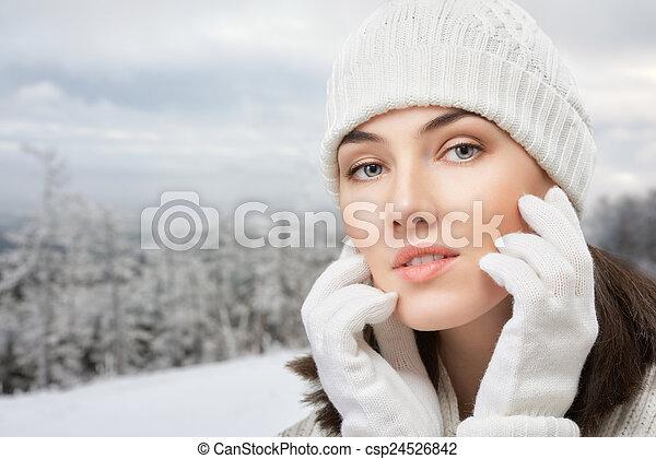 beauty portrait - csp24526842