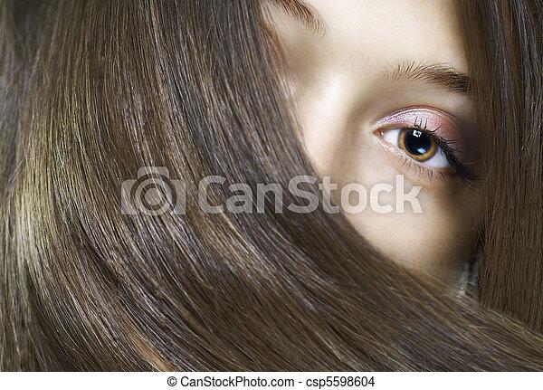 beauty portrait - csp5598604