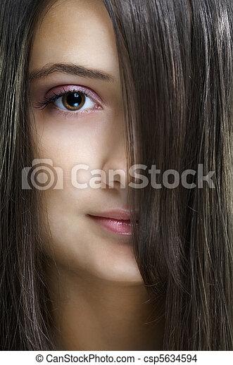 beauty portrait - csp5634594