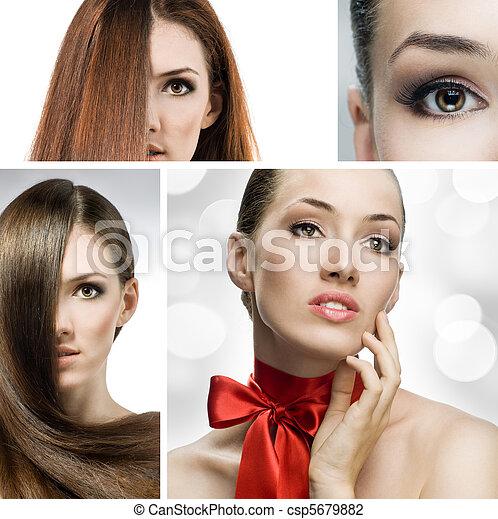 beauty portrait - csp5679882