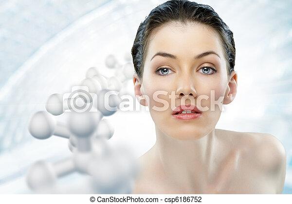 beauty portrait - csp6186752