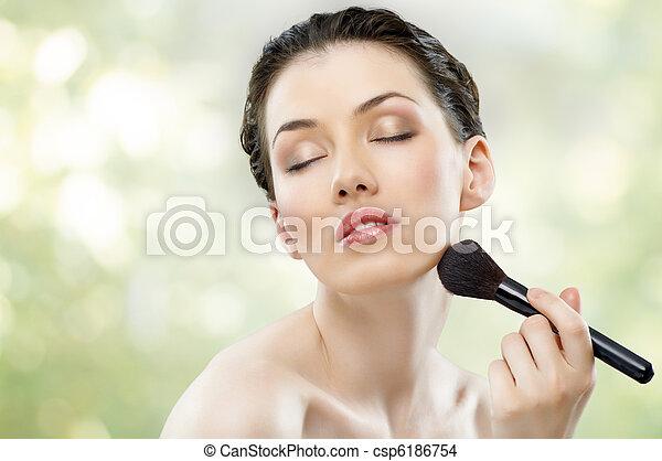 beauty portrait - csp6186754